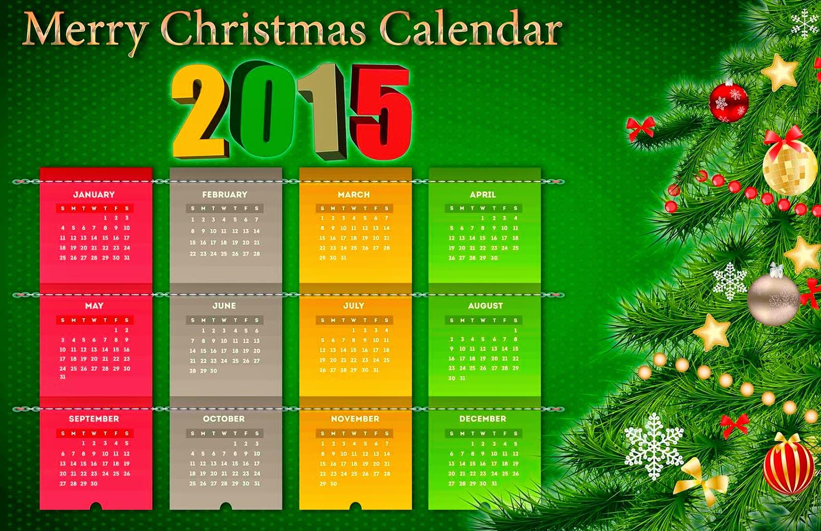 Tela con parte de un árbol navideño para un calendario