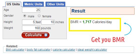 diet bmr