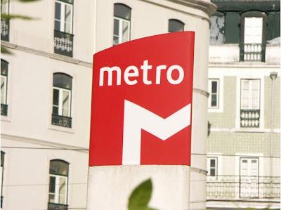 Metro w Lizbonie schemat mapa Lisboa metro komunikacja miejska foto pdf