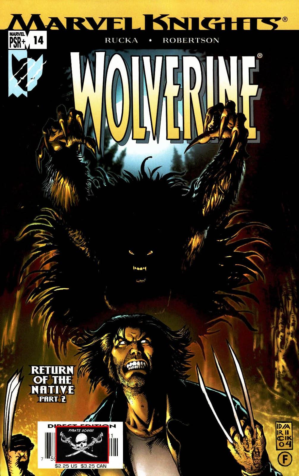 Read online Wolverine (2003) comic -  Issue #14 - 1