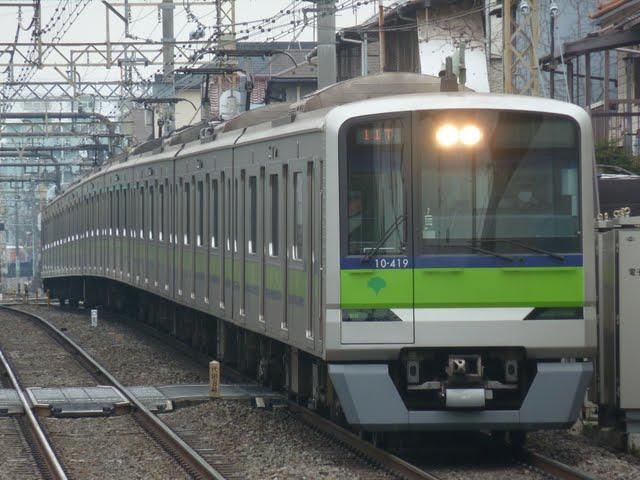 都営新宿線 回送1 10-300形