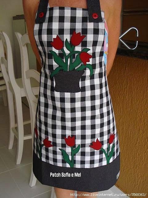 Передники для кухни шьем