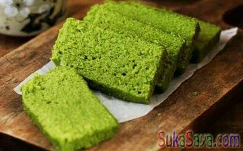 Green Tea Japaness Sponge Cake Sederhana
