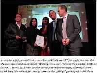 TM HyppTV wins award in London