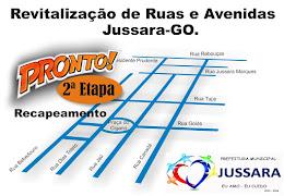 REVITALIZAÇÃO DE JUSSARA - 2ª ETAPA PRONTA!