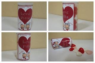 Pílulas do Amor - Lembrancinhas Personalizadas