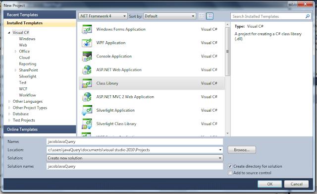 Jacob + Visual Studio 2010 + jacob-project