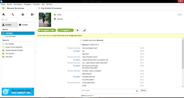 Skype Desktop Pilihan Tepat Untuk Facebook