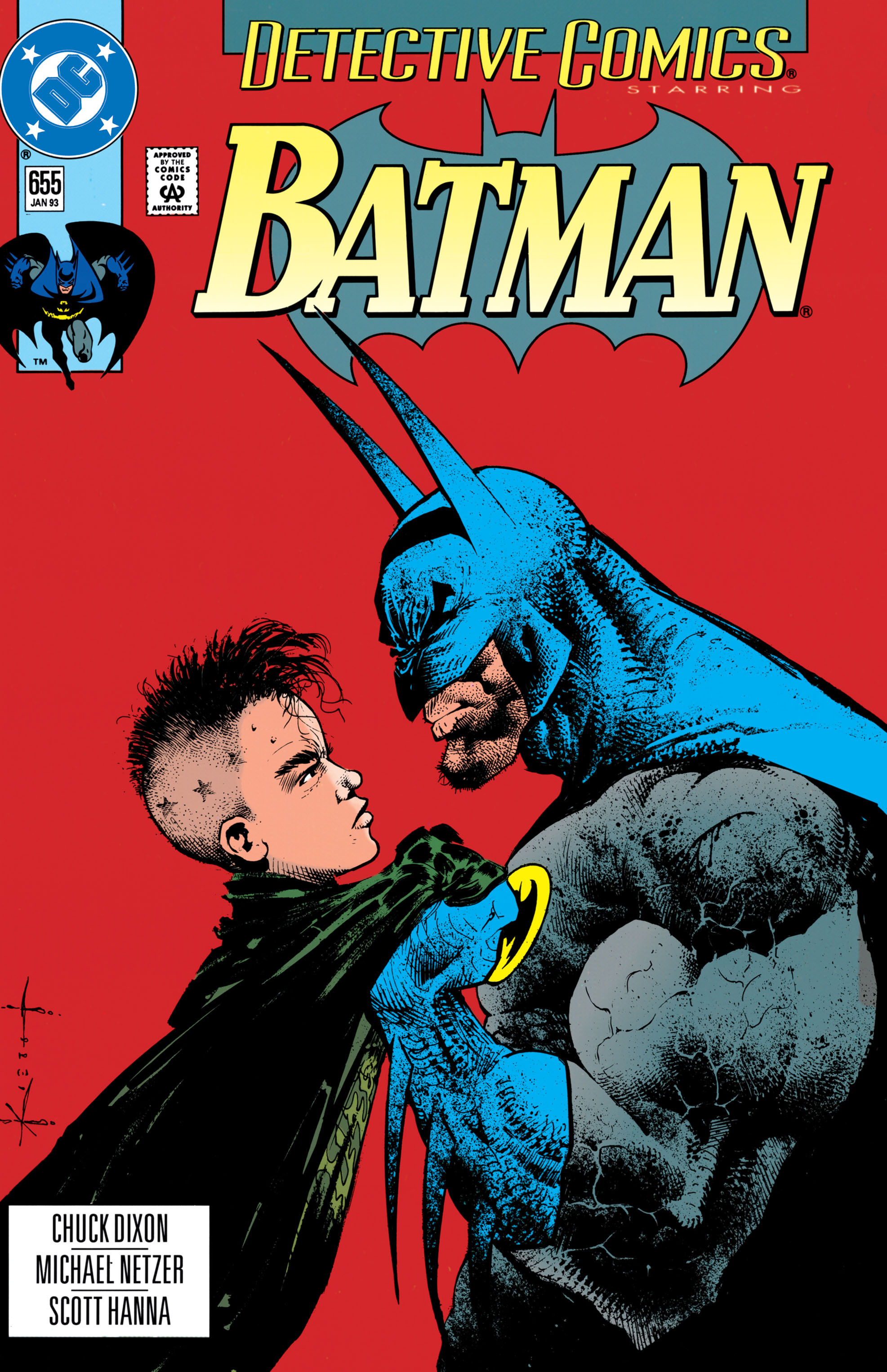 Detective Comics (1937) 655 Page 1