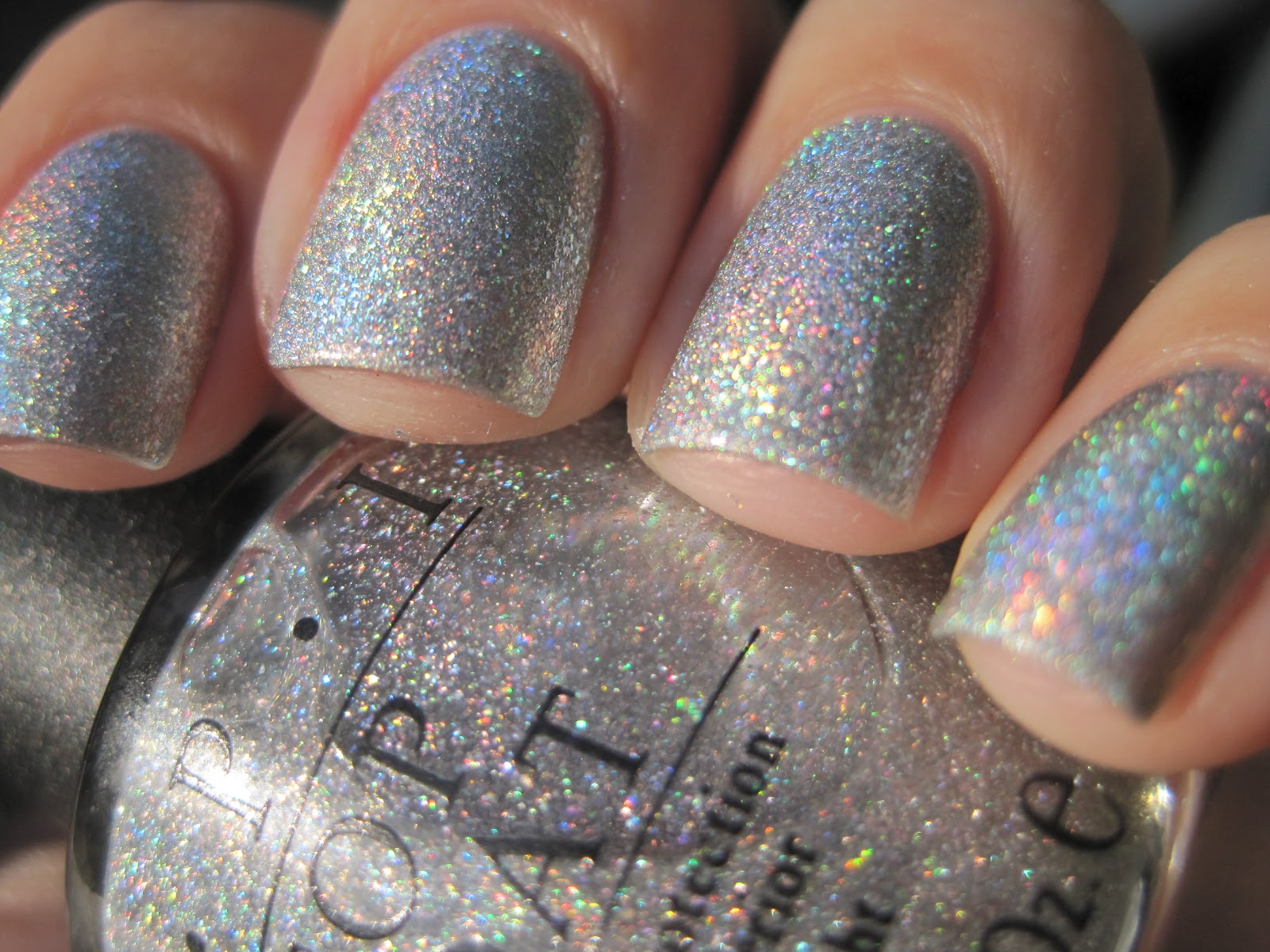 Sparkly Vernis: OPI Paris Couture For Sure another one from the vault