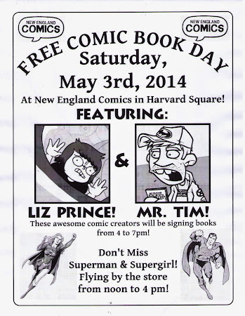 FREE COMIC BOOK DAY 2014!