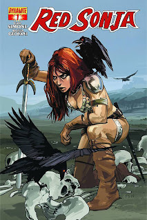 Red Sonja #1c by Fiona Staples