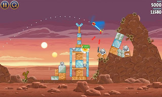 Screenshot AngryBirds StarWars Full Version