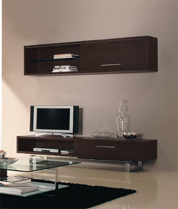 meuble tv alinea wenge meuble tv. Black Bedroom Furniture Sets. Home Design Ideas