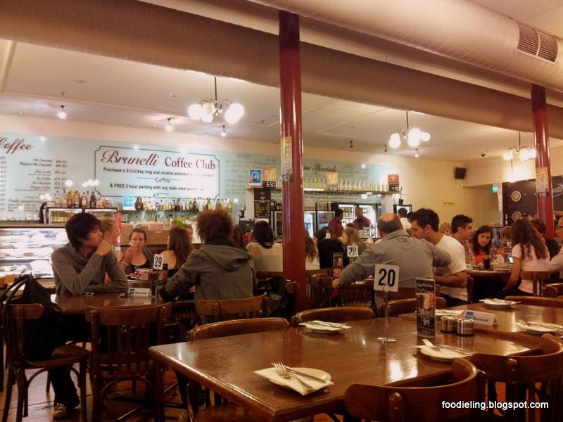 Cafe Menu Adelaide