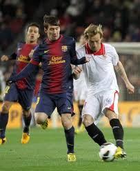 Jornada 5 2013 2014 Barcelona - Sevilla Messi Rakitic quiniela