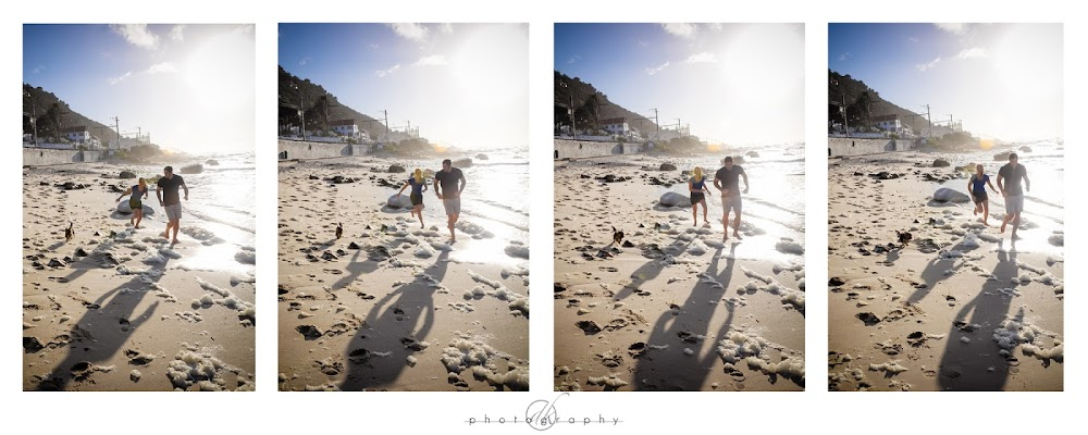 DK Photography Ray+Collage_edited-1 Ray & Don's Engagement Shoot in Muizenberg Beach & Rhodes Memorial  Cape Town Wedding photographer