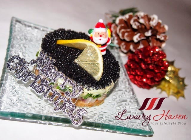 festive party caviar pie hors doeuvre recipe