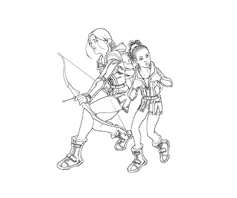 #4 The Hunger Games Coloring Page