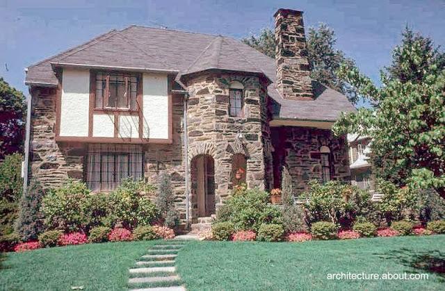 Casa residencial estilo Francés normando en Estados Unidos