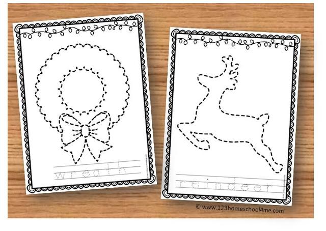 Printable christmas sheets