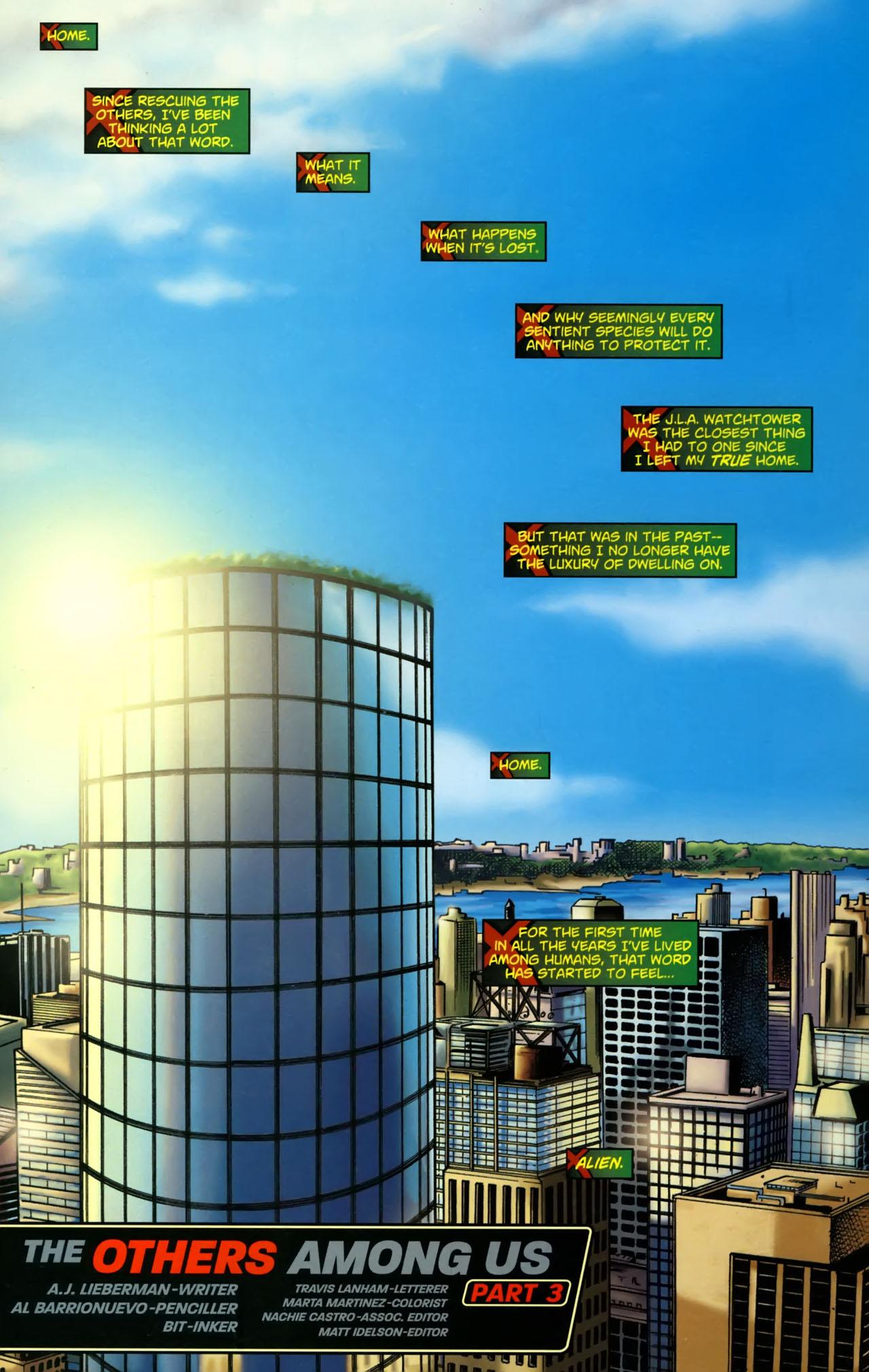 Read online Martian Manhunter (2006) comic -  Issue #3 - 2