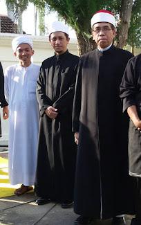 Bersama mufti Kedah dan tim mufti