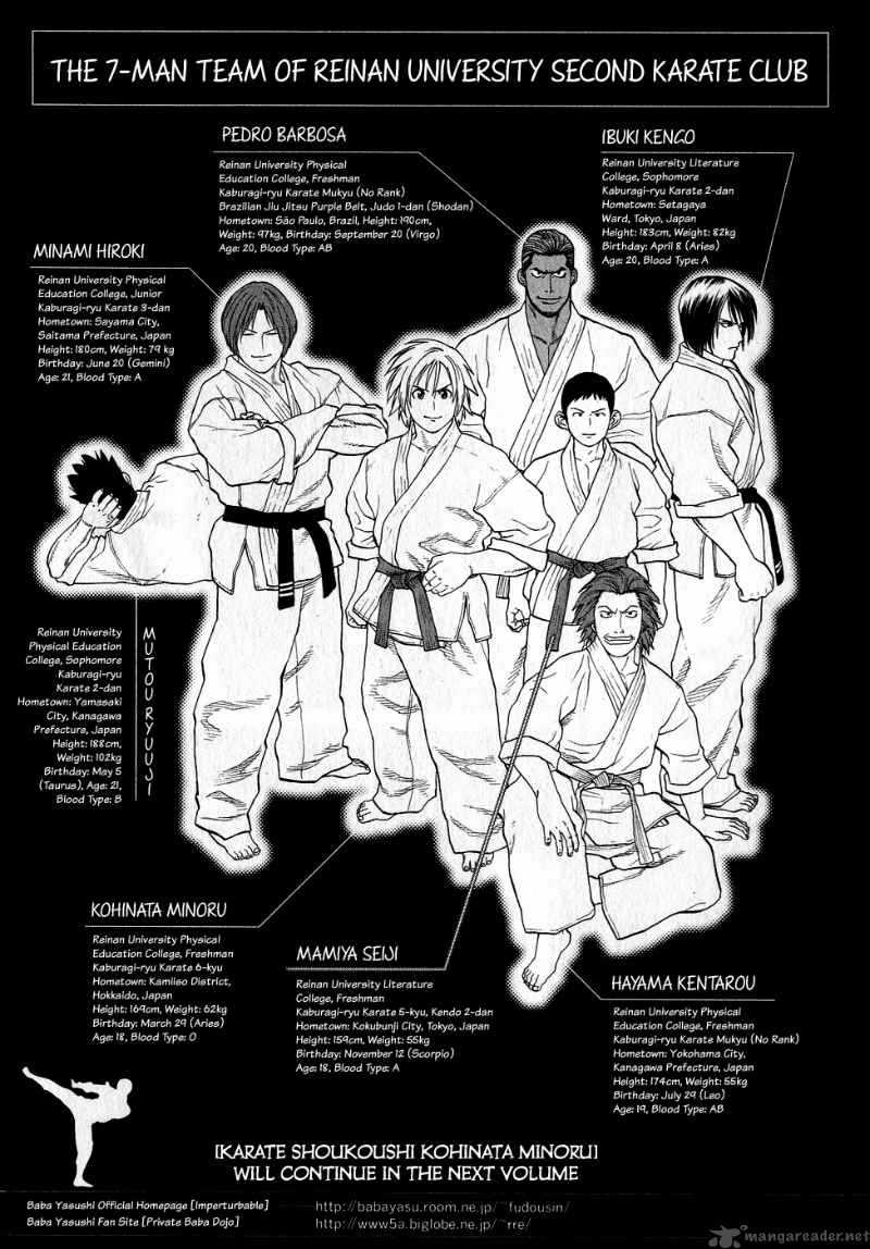 Karate Shoukoushi Kohinata Minoru chap 64 Trang 22