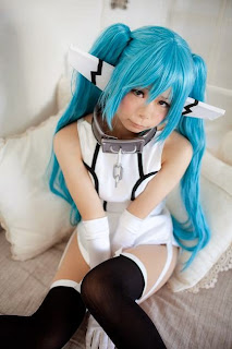 Sora no Otoshimono Nymph cosplay by Sue