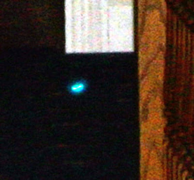 Real Ghost Photo: Blue Spirit Light