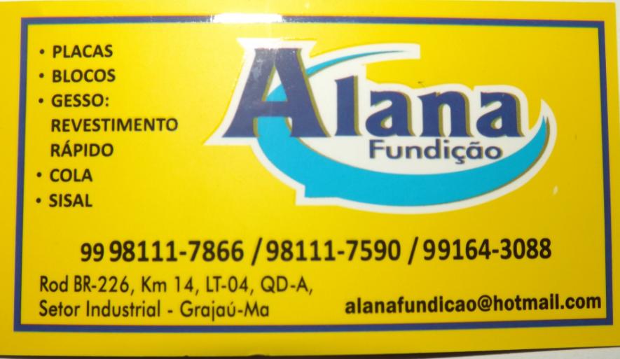 ALANA FUNDIÇÃO.