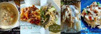 http://www.sweetandsavoryfood.com/2015/06/10-five-ingredient-dinners.html