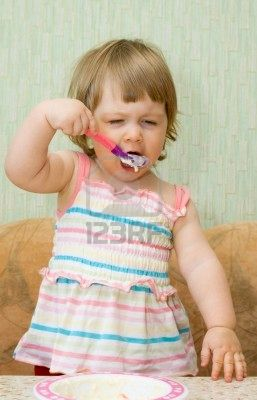 Eat Like This - Funny Babies Eating Photos...