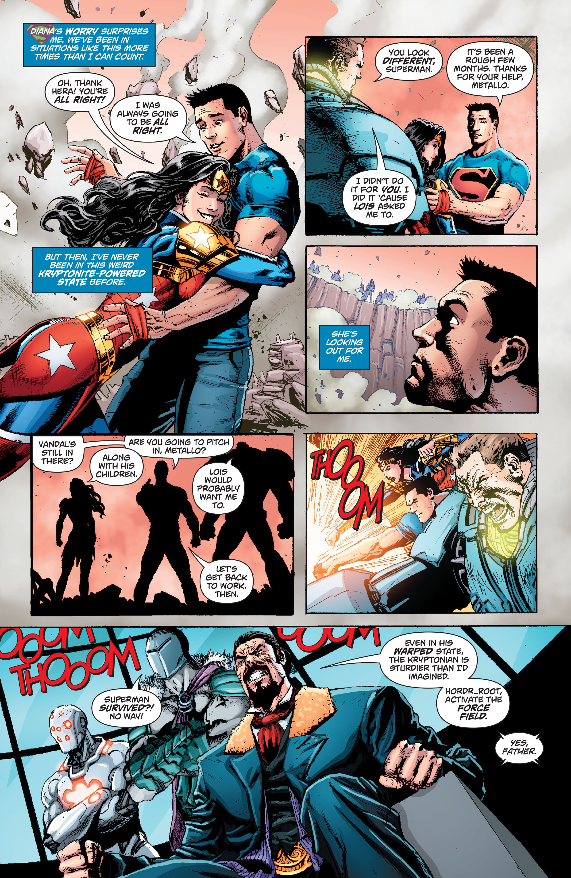 Read online Superman (2011) comic -  Issue #49 - 8