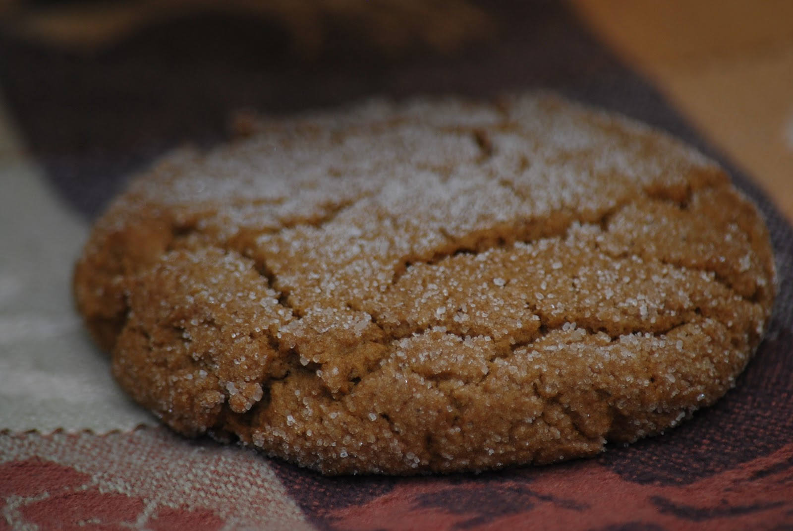 My story in recipes: Ginger Molasses Cookies