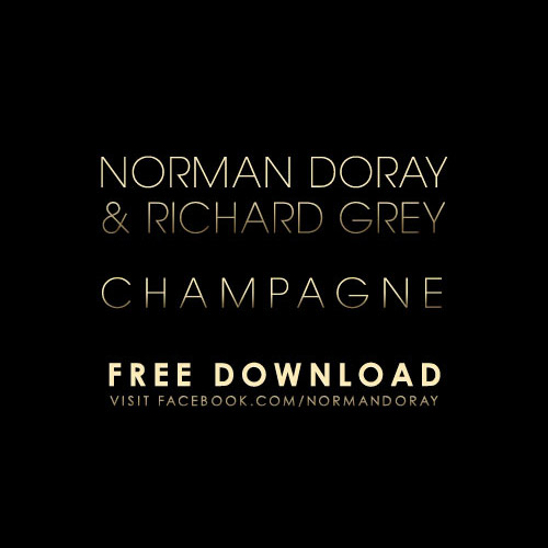 norman doray, richard gray, champagne, copertina, cover