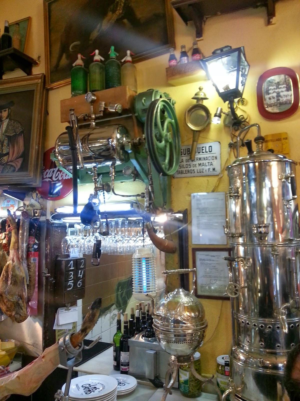 Barrio de las Letras. Madrid. Los Gatos. Inspección Tabernaria
