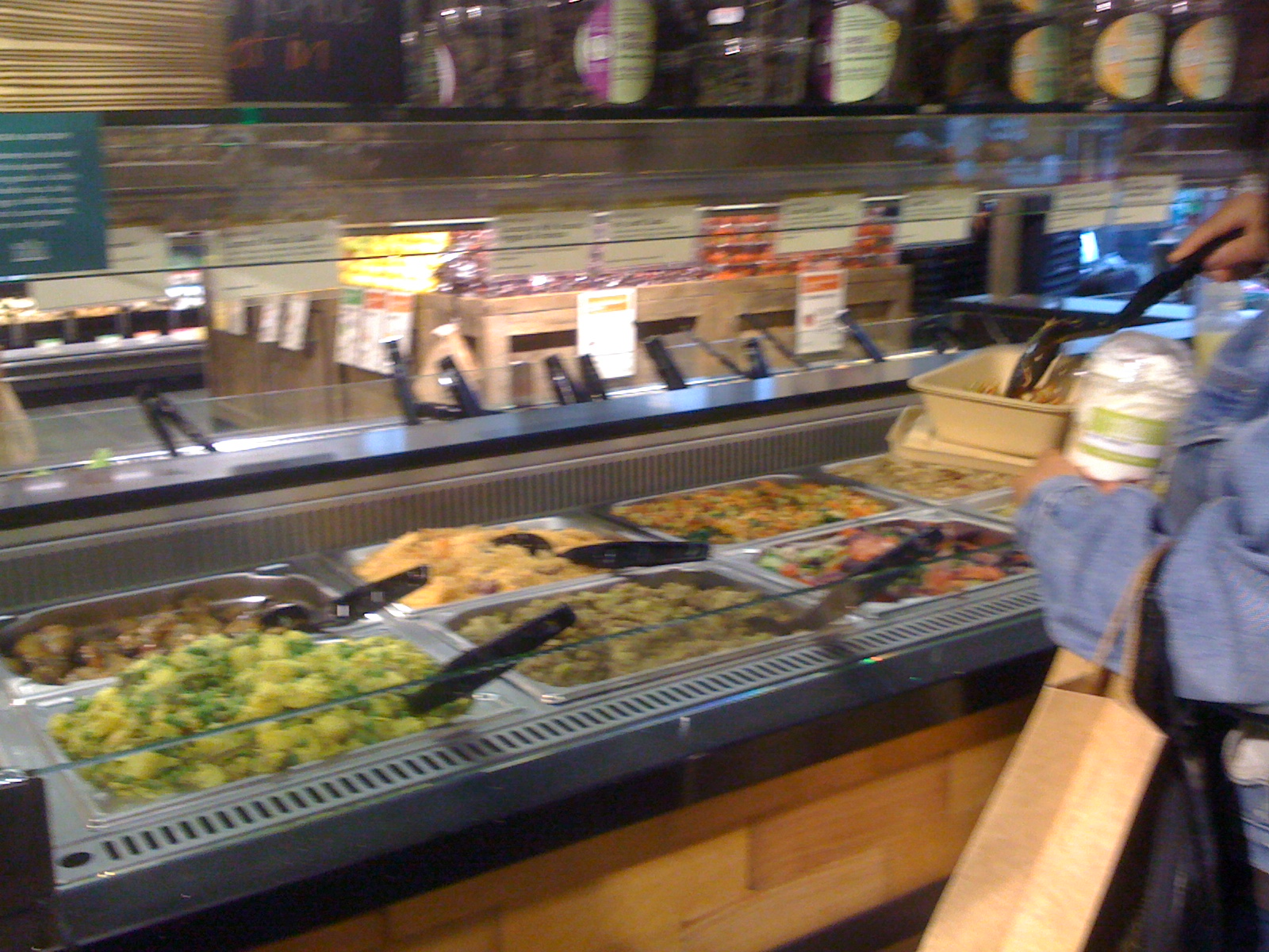 Les tasters londres le whole foods piccadily fait peau for Food at bar 38
