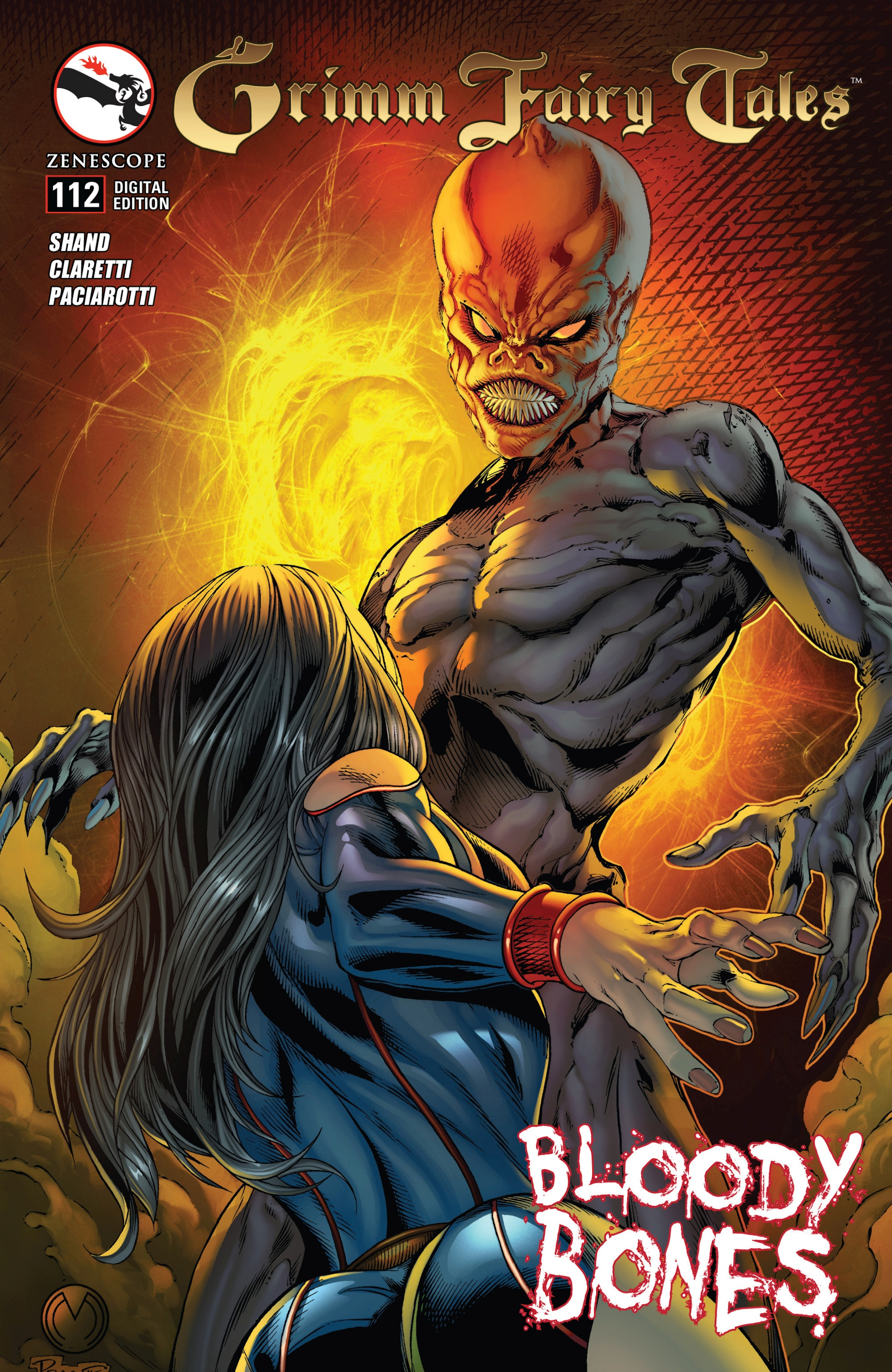 Grimm Fairy Tales (2005) Issue #112 #115 - English 1