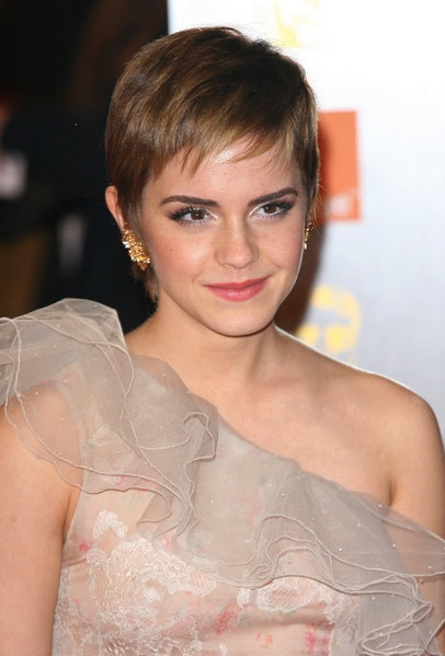 and then a pixie cut so that way it won t be horribly shocking here is