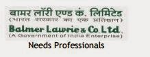Jobs in Balmer Lawrie and Co. Ltd