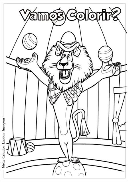 Desenhos para Colorir Dora Aventureira e Madagascar 3