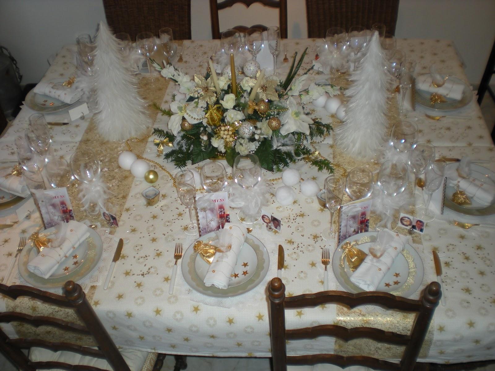 #5E4D39 Déco De Noël En Or Et Blanc . Déco De Table à Thèmes 6179 decoration de table de noel en blanc 1600x1200 px @ aertt.com
