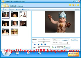 ThunderSoft Flash Slideshow Factory 2.8.2