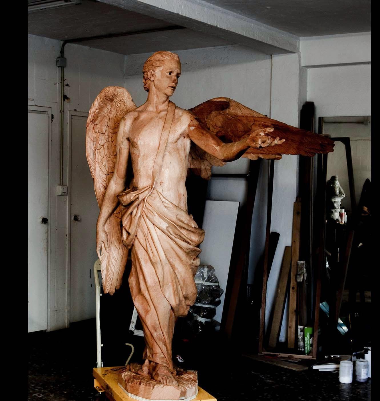 Ángel Semana Santa Tobarra escultura 16