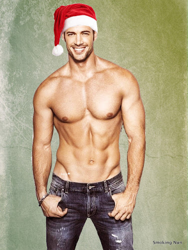 Shirtless William Levy as Sexy Santa