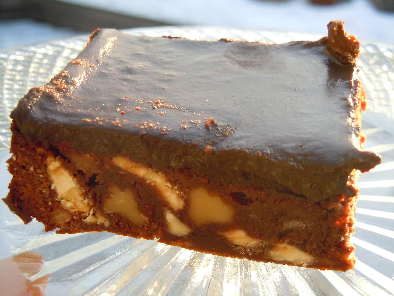 Mat och odla: Leila´s Chocolate Chip Walnut Brownies