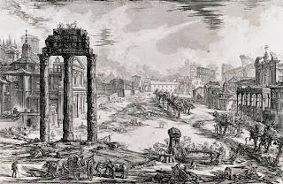 Dibujo de Roma y Derecho Romano