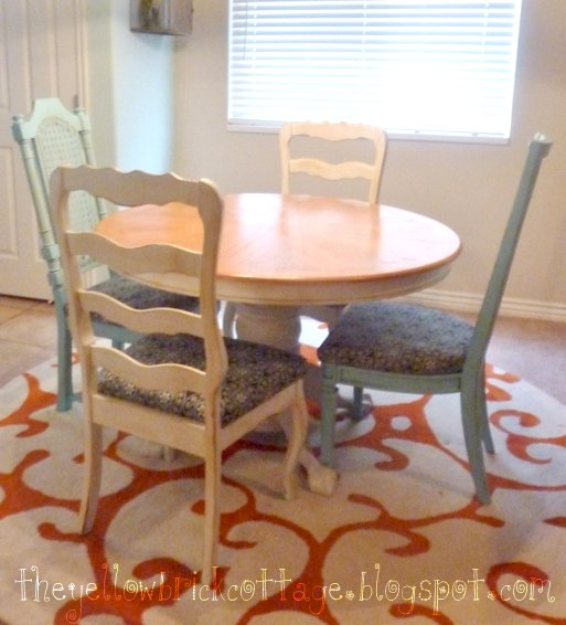 Kitchen Table And Chairs Makeover: The {Not-So-Secret} Life Of Jennifer Nicole: Kitchen Table