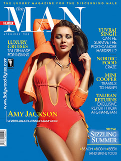 Sizzling Hot Amy Jackson Cover Girl The MAN April 2013